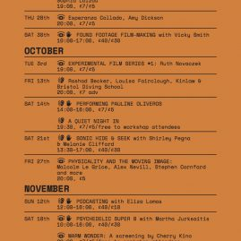 BEEF AUTUMN PROGRAMME 2017 :  September to November