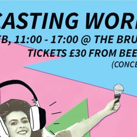 PODCASTING WORKSHOP : Sunday 18th Feb